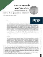 Límites del crecimineto de la empresa en Colombia