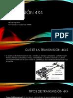Transmisión 4x4