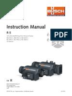 Busch Instruction Manual RA 0400 0630 C Usen 0872929551
