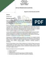 Carta de Presentacion Auditoria