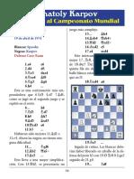 12- Spassky vs. Karpov