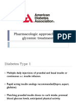 Pharmacologic Approaches to Glycemic Treatment