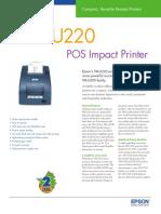 Epson TMU220 Brochure