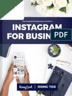 Rising Tide Instagram for Business