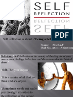 Presentation on SELF REFLECTION