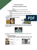 Analisis de Cereales Clasificacion Del Grano de Quinua