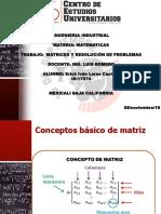 Tarea 6 Matrices y Resolución de Problemas