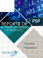 Reporte Economico Septiembre 2019-2