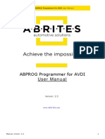 ABPROG User's Manual