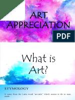 Art Apppreciation Week 1