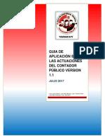 GUIA DE APLICACIÓN SOBRE LAS ACTUACIONES DEL CONTADOR PÚBLICO VERSION 1.1.pdf