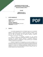 Silabo Derecho Civil IV 2016-i
