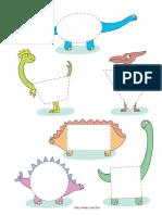 actividades de dinosaurios