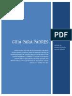 Guía Para Padres en El Periodo de Adaptación en La Escuela Infantil y Los Principios Básicos de Apoyo Del Aprendizaje