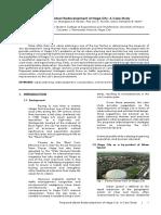 Proposed Urban Redevelopment of Naga City
