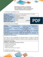 Guía de Actividades y Rubrica de Evaluación - Paso 3 – Gestion de Productos Innovadores