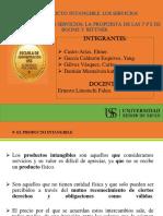 Exposicion Intangible Servicio y 7ps