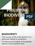 PHILIPPINE BIODIVERSITY.ppt