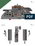 Learjet 35 Panel Art