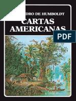 Cartas Americanas de Alexander Von Humboldt.