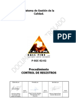 P SGC 02 02 Control de Registros.