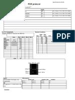 Gentotyping protocol