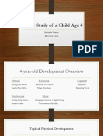 edu 220 a case study of a child age 4