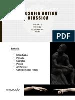 Filosofia Antiga Clássica