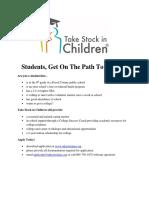Student Enrollment Flyer 2018 Basic