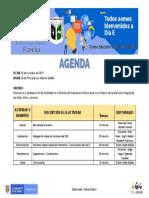 Agenda Dia e - Familia - 2019