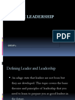 Basic Leadership