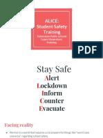 Alice KPS Elementary2 ALICE October 2019