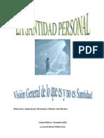 0ro La Santidad Personal