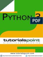 Python 3 Tutorial Point by Tutorials Point (I) Pvt. Ltd.