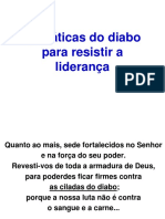 0_As Taticas Do Diabo Para Resistir a Lideranca - Aula 1