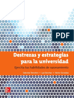 Destrezas y Estrategias Para La Universidad - María G. T. Espejel