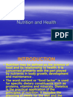 1.1 Nutrition and Health