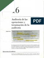 Auditoría de las Operaciones
