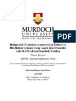 Design and Co-simulate Control of an Extractive