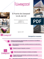 Liverpool Presentacion Inversionistas Julio 2017 Colocacion LIVEPOL 17 LIVEPOL 17 2