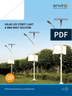 Catalogue Havells Solar Street Light Mini Mast Solution