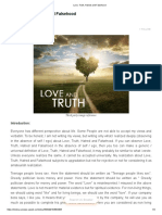 Love, Truth, Hatred and Falsehood Web