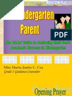 Kindergarten Talk.ppt