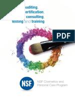 PLA Cosmetics Brochure