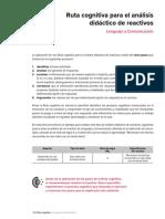 ejemplo de ruta de mejora lenguaje y comunicacion