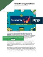 Pneumonia Nursing Care Plans - 10 Nursing Diagnosis - Nurseslabs.pdf