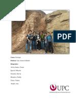 Informe Visita 1 Geología