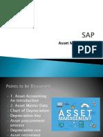SAP FICO Asset Management