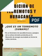 Medición de Terremotos y Huracanes