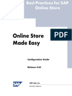 SAP Labs - Online Store Made Easy Configuration Guide 4.6C